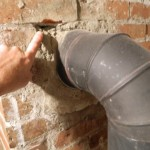 Deficiency: Mortar deterioration may allow flue gasses into the living space.